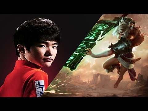 Faker - Best plays Riven