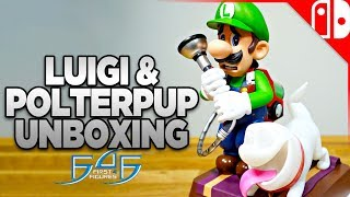 Luigi & Polterpup Figure Unboxing from First4Figures - Luigi's Mansion 3