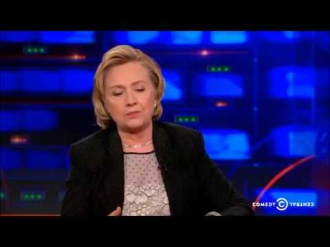 Debunking | The Daily Show Exclusive - Hillary Clinton Interview - Palestinian Gaza Israel Conflict