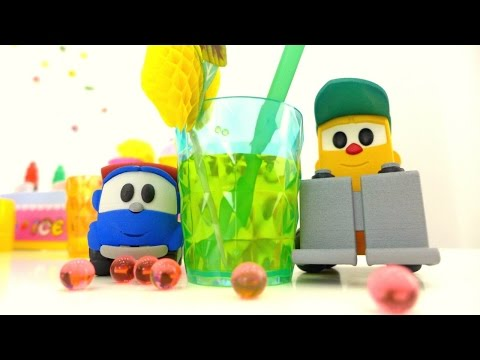 Развивающее видео для детей -  Машинки готовят лимонад