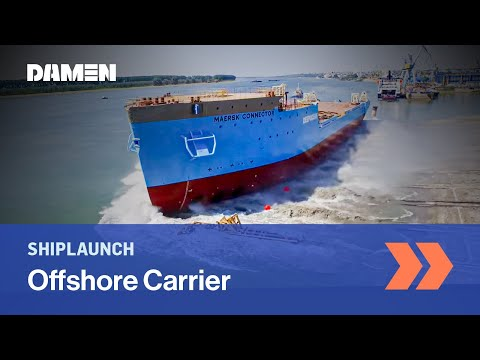 Launch of DOC 8500 'Maersk Connector'