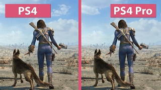 4K UHD | Fallout 4 – PS4 vs. PS4 Pro 4K Mode Graphics Comparison