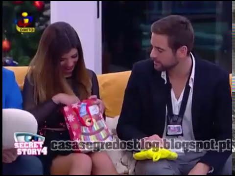 Concorrentes recebem prendas de Natal dos Ex-concorrentes - casasegredosblog.blogspot.com
