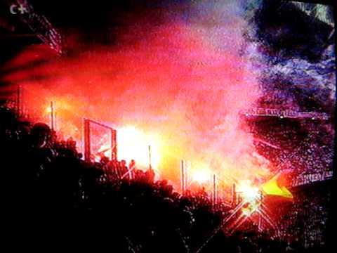 ULTRAS SUR en Turín. Juventus - Real Madrid, eliminatoria Copa de Europa 1995-96