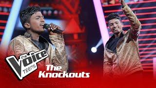 Akila Sandesh | Lassana Lokeka Ipadeela Knockouts | The Voice Teens Sri Lanka