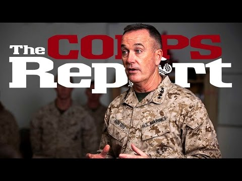 New Commandant Takes Charge (The Corps Report Ep. 42)