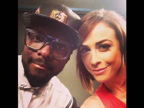 Hanging out with Will.i.am and Britney Spears!