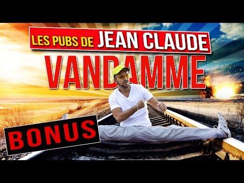 Les pubs de Jean Claude Van Damme - BONUS