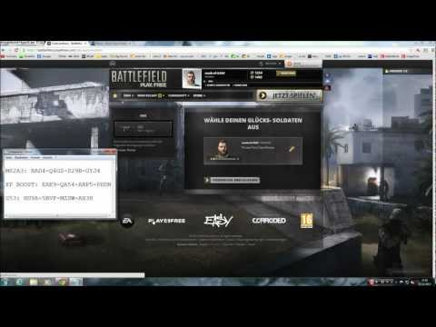 Battlefield Play4Free Redeem Codes [EXPIRED] German/English