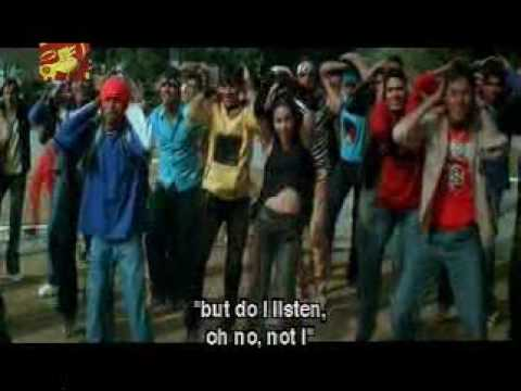 V-Song from the Hindi Movie Main Hu Na to feel the real freedom of the life