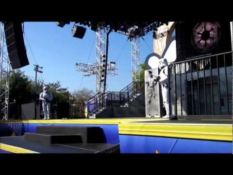 Storm Trooper Presentation At Star Wars Weekends 2013