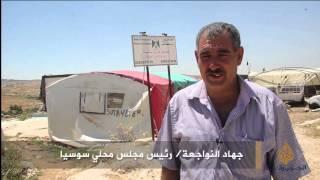 قرية فلسطينية تنتظر تنفيذ قرار هدمها