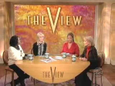 Patrick Swayze's Sad Episode Preview on the View 01 07 2009