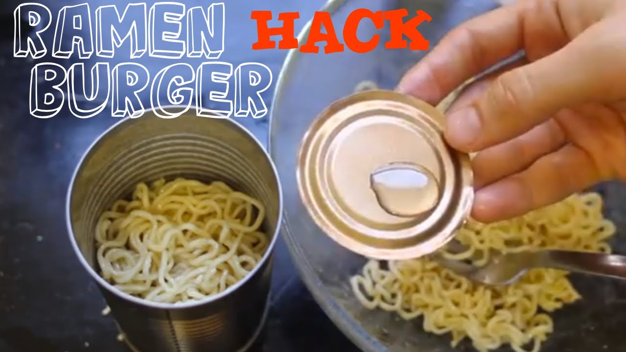 picture How to Make a Ramen Burger