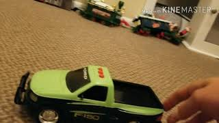[RARE] Early-mid 2000's Toy State Road Rippers Hitch & Go Ford F-150 (on drugs)