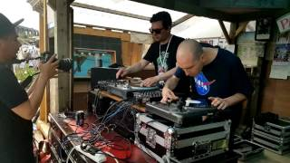 Cut And Paste Records at Meeting Of Styles 2016