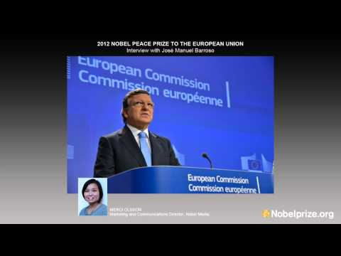 Interview with José Manuel Barroso, President of the European Commission: 2012 Nobel Peace Prize
