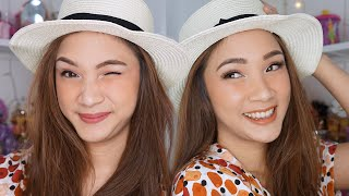 EMINA ONE BRAND TUTORIAL | SUMMER PEACHY LOOK