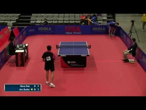 2014 US National Table Tennis Championships - Table 1 - Day 2 Morning Session