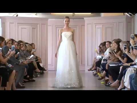 Desfile de novias Oscar de la Renta Primavera 2016