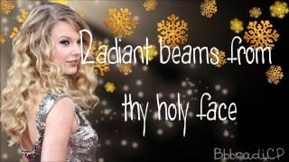 Watch Taylor Swift Silent Night video