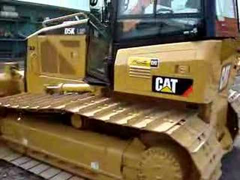 walkaroud D5K. new caterpillar. bulldozer. grade.cat. ton.
