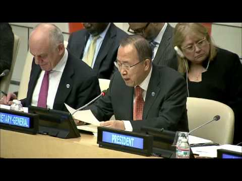 Ban Ki-moon on Ebola - Informal meeting of the General Assembly (18 February 2015)