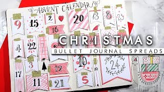 6 Christmas Bullet Journal Spread Ideas | Planning For The Holidays!