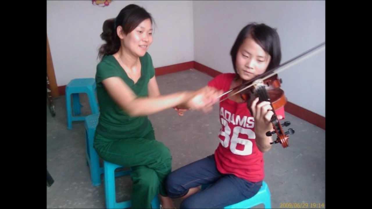 Me Wenwen Han And Violin Wenwen Han Karate Kid Dance