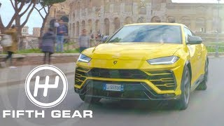 Lamborghini SUVs: The LM002 & The Urus - Fifth Gear