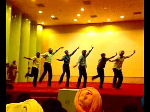 GADVASU Boys Bhangra at NCC Camps Nite..