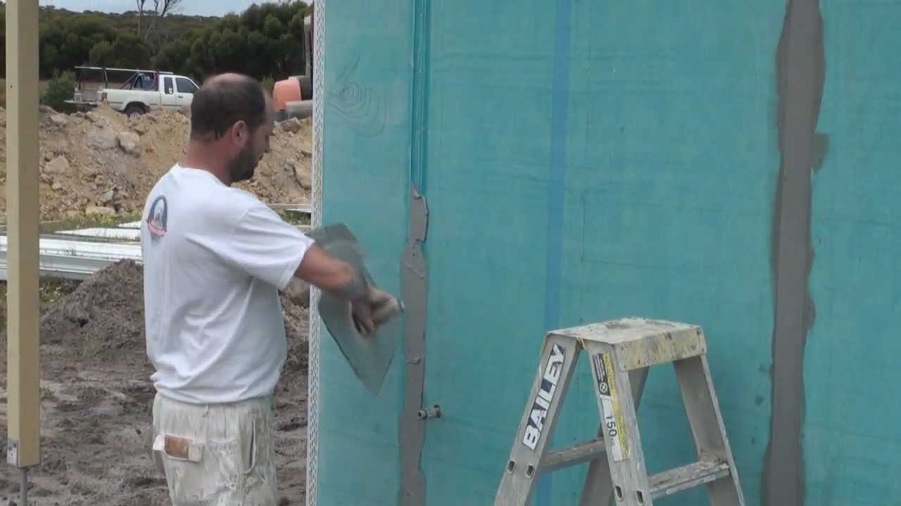 Blue Board Joints How To Flush Join Blue Board Youtube