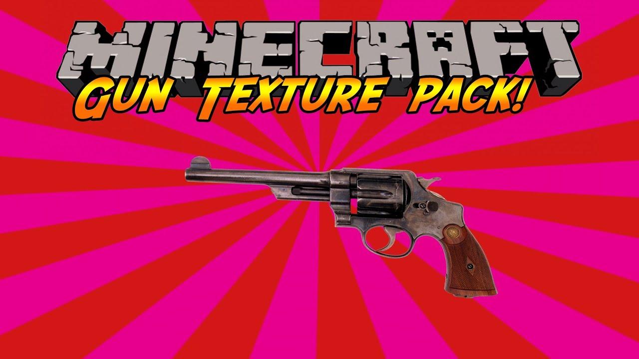 Minecraft Gun Texture Pack
