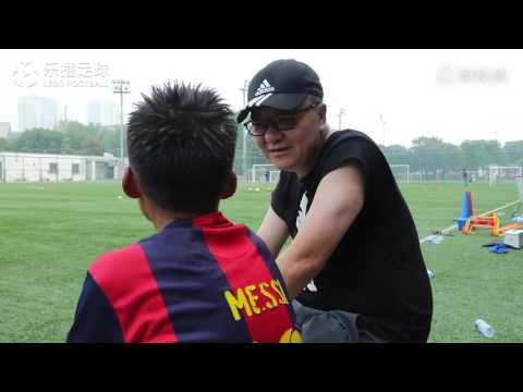 新疆足球小神童接受董路特訓