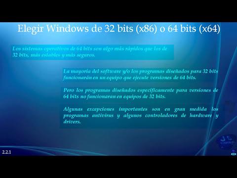 Elegir correctamente el Sistema Operativo a instalar antes de formatear. Parte 1/2