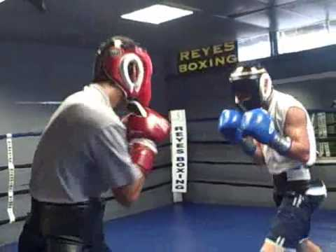 Robert Marroquin-Arthur Trevino Sparring Session Image 1