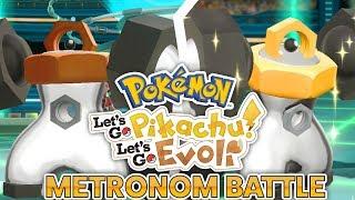 MELMETAL METRONOM BATTLE! Pokémon Let's Go Pikachu & Evoli