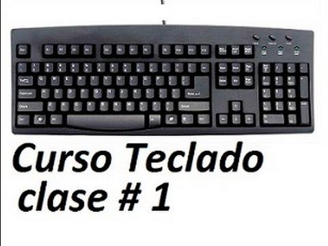 Curso de teclado pc increible asombra a tus amigos clase 1 - Tablero escritorio ...