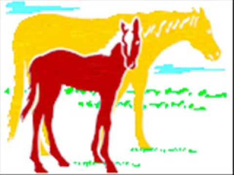 童謡 ♪おうま A Japanese Children's Song horses Or ouma video
