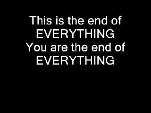 Slipknot- Everything ends lyrics