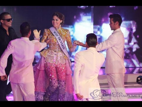 Homenaje a Miss Universe 2013, Gabriela Isler durante el Miss Venezuela 2014 1/2