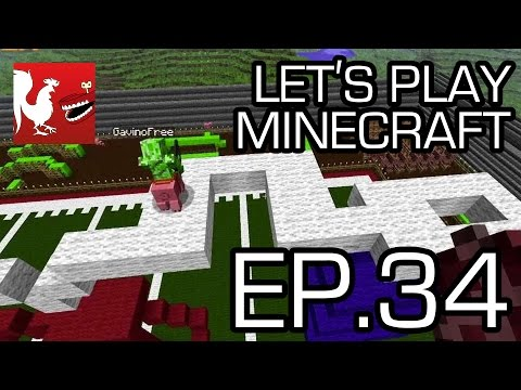 Let's Play Minecraft Episode 34 - Pig Olympics
