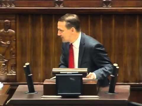 [131/376] Radosław Sikorski: Chciałbym zabrać głos dlatego, że z panem posłem Sellinem znamy..