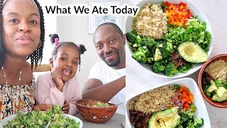 What We Eat in a Day | Easy & Healthy Vegan Meal ideas [High Raw]