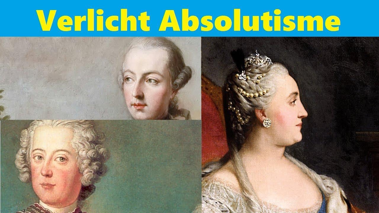 Scholieren.com Videoplatform :: Wat is Verlicht Absolutisme?