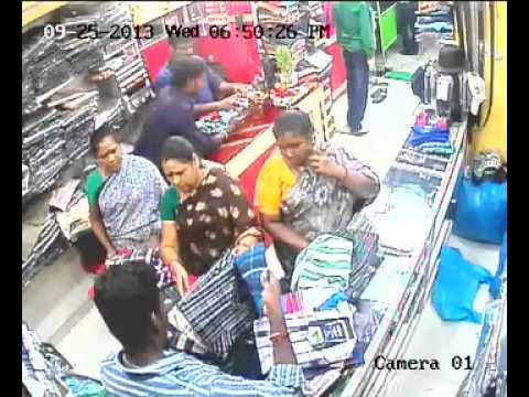Theft at Puducherry Readymade showroom