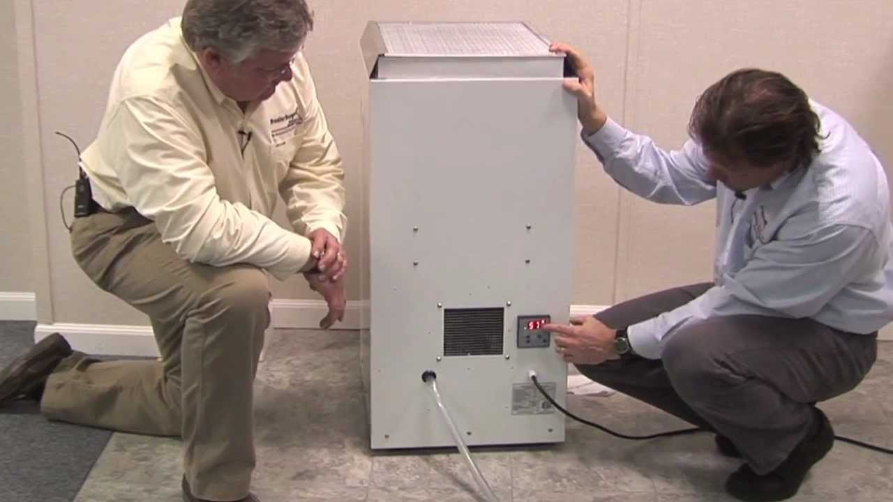 and ky basement dehumidifier frontier basement systems youtube