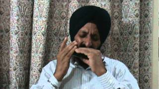 Kisi Ki Muskurahaton Pe(Mukesh) On Harmonica By Jagjit Singh Ishar.MPG