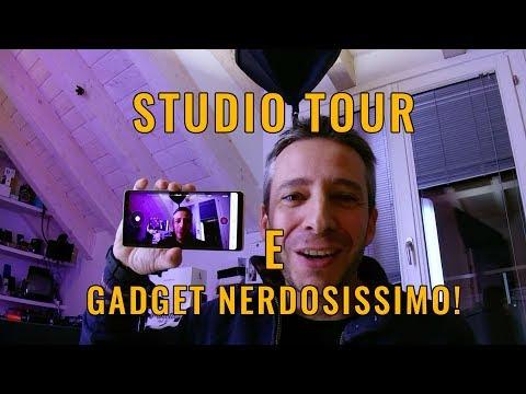 Unboxing e STUDIO TOUR con il NINEBOT