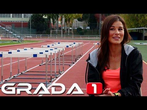 Atletismo: Lorena Luaces, marcha, moda y buena mesa